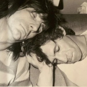 Keith Richards and Ronny Wood by Jo Wood