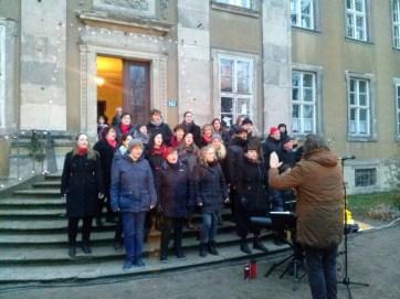 Konzert im Schloss Ostrau zur Schloss-Weihnacht 2017