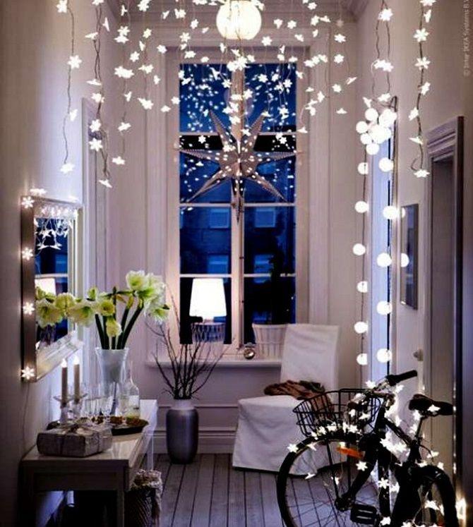 如何为新的一年装饰房间2021:新年装饰的最佳想法3