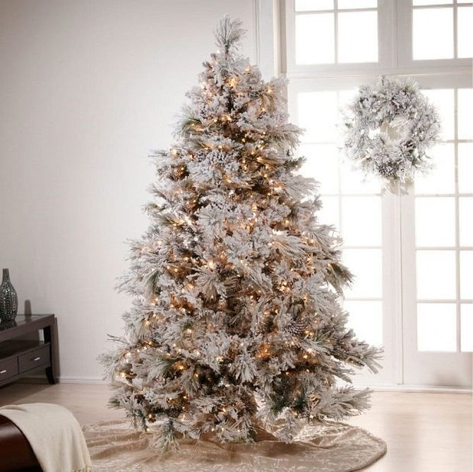 украсить елку на новый год