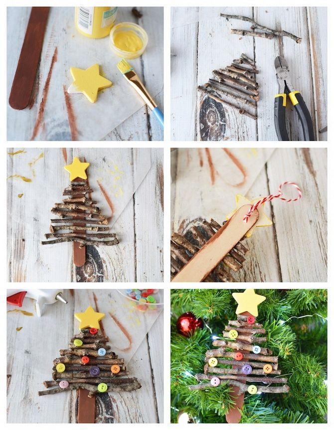Uudenvuoden lelut joulukuusi + tee se itse