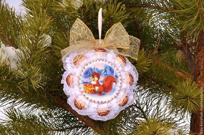 Рождестволық ойыншықтар кәмпиттен