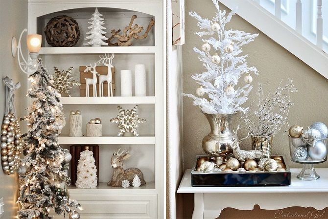 How to decorate the room for the new year 2021: the best ideas of the New Year decor 22