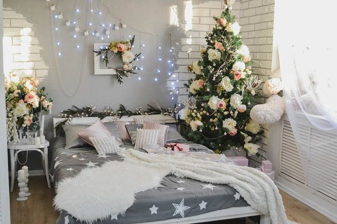 How to decorate the room for the new year 2021: the best ideas of the New Year decor 2