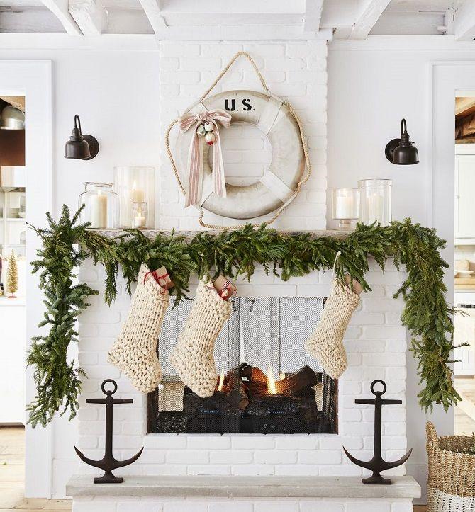 Рождестволық гүл шоқтары бар гүлдер: 5 стильді жаңа жылдық декор 2021 5