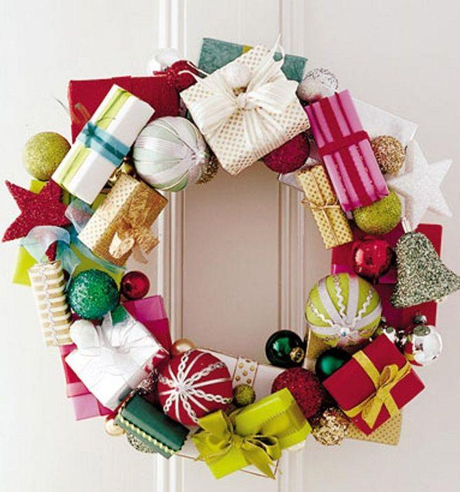 Рождественский венок своими руками: 5 стильных новогодних декоров 2021 9