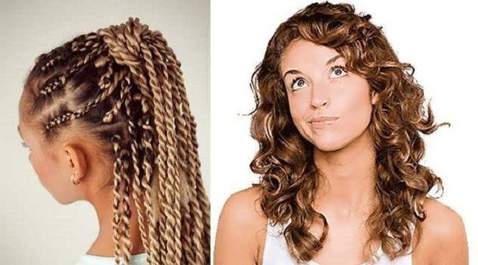 Curls deliciosos: 9 Métodos de ondulação em casa 15