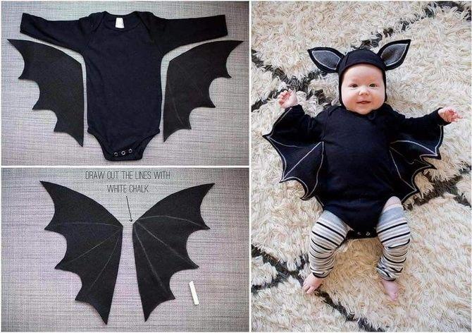 Trang phục Halloween: Tùy chọn đơn giản và ngân sách cho cả gia đình 25