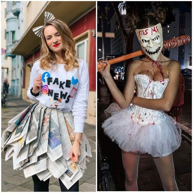 Trang phục Halloween với bàn tay của riêng bạn: Tùy chọn đơn giản và ngân sách cho cả gia đình 34