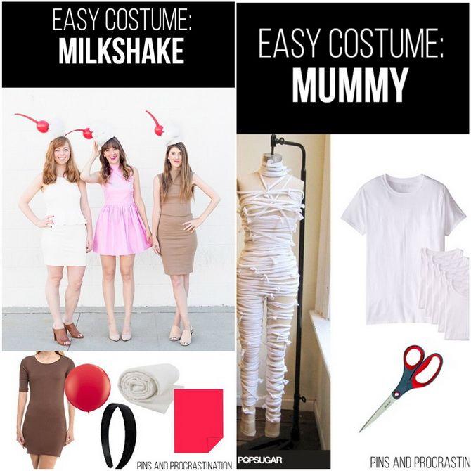 Halloween kostume med dine egne hænder: enkle og budgetmæssige muligheder for hele familien 5