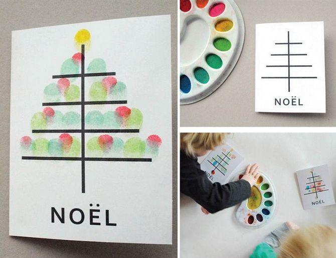 کارت پستال های سال نو را با دستان خود ایجاد کنید: کلاس های اصلی اصلی 1
