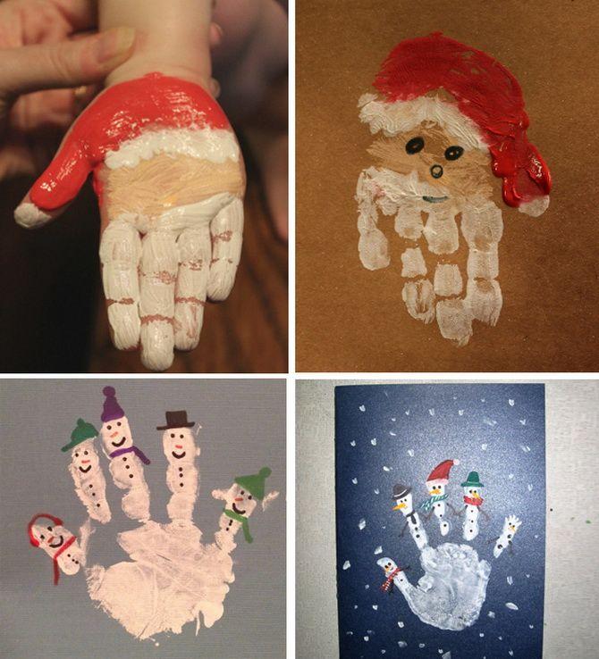Создаем новогодние открытки своими руками: простые мастер-классы 2