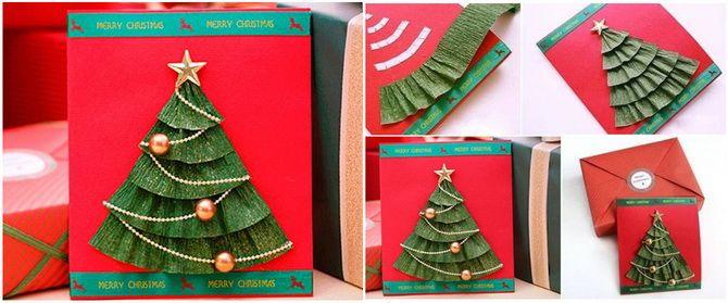 Өз қолыңызбен жаңа жылдық ашықхаттар жасаңыз: Қарапайым семинарлар 4