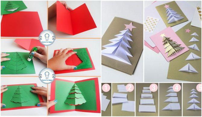Өз қолыңызбен жаңа жылдық ашықхаттар жасаңыз: Қарапайым семинарлар 5