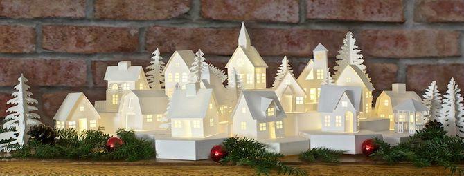 Novoroční dům - řemesla s vlastními rukama 23