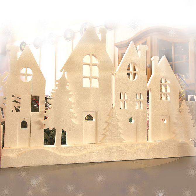 Новогодний домик – поделка своими руками 28