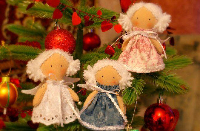 Новогодние ангелочки своими руками: простые мастер-классы на фото и видео, подборка идей от Joy-pup 1