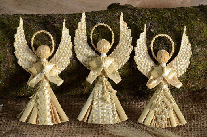 Новогодние ангелочки своими руками: простые мастер-классы на фото и видео, подборка идей от Joy-pup 28