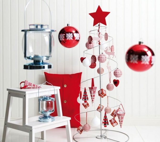 Cum să faci un copac de Crăciun de sârmă neobișnuit pentru Anul Nou 2021: idei cool cu fotografie 12