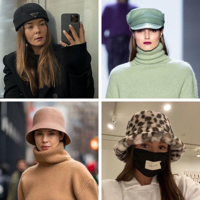 Cách chọn một chiếc mũ ở dạng khuôn mặt - Chọn một chiếc mũ 6
