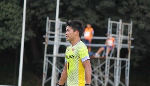 キックで攻撃の起点にも…早稲田大GK山田晃士、チームを第一に考える絶対的守護神