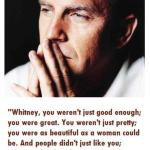 Kevin Costner's Tribute to Whitney Houston