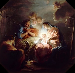 The Nativity by Copley (Restored Traditions)