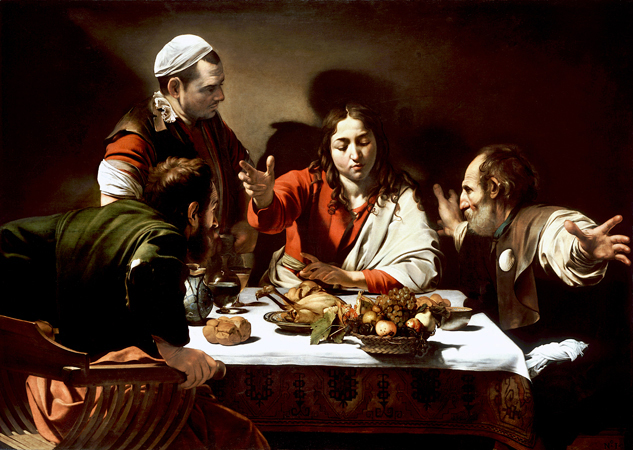 Supper at Emmaus by Caravaggio (Getty)