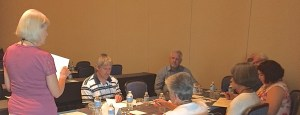 Non-Fiction Critique Workshop, 7-28-16. Catholic Writers Conference Live (photo by CWG staff)