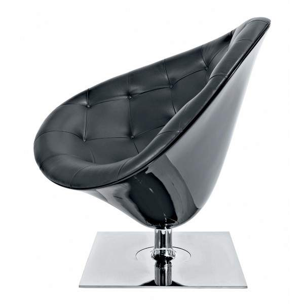 fauteuil-moore-black-philippe-starck-driade