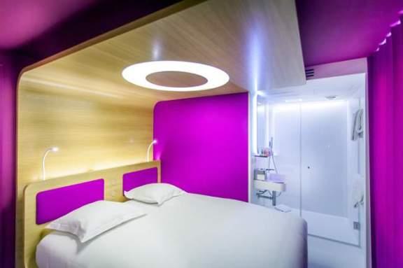 chambre rose Hôtel O Paris - Designer Ora ÏTO