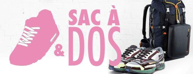 SNEAKERS ET SAC A DOS CAROUSSEL