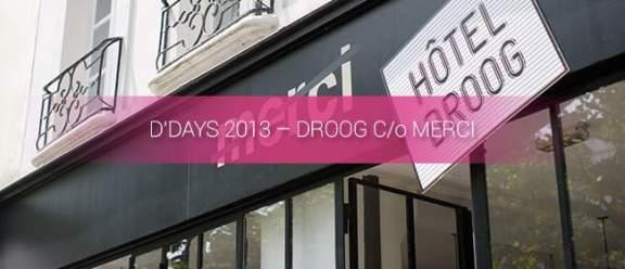 DESIGNER'S DAYS 2013 - D'DAYS 2013 MERCI
