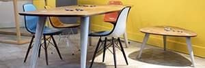 table béton NUMERO UNIQUE