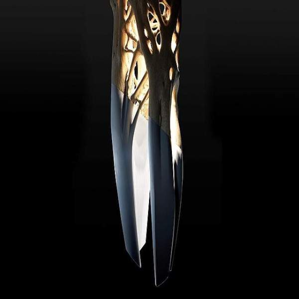 Today on http://Deco-Design.biz/ >>> ONYX Chandelier by the PEUGEOT DESIGN LAB