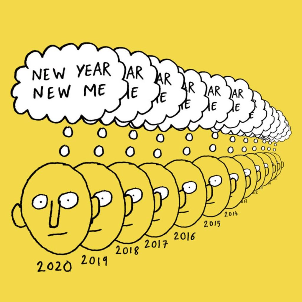 illustration artiste français Jean Jullien nouvelle année 2020