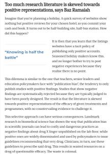 Screenshot of an article - positive representations