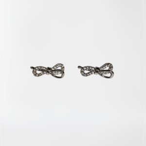 Pendientes infinito con lazo (Gold Filled)