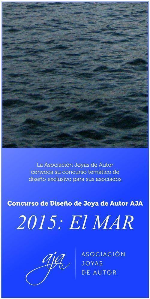 AJA - Concurso Diseño Joya de Autor 2015 - Cartel