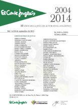Expo 10 años joya autor atlantico - El Corte Ingles Vigo