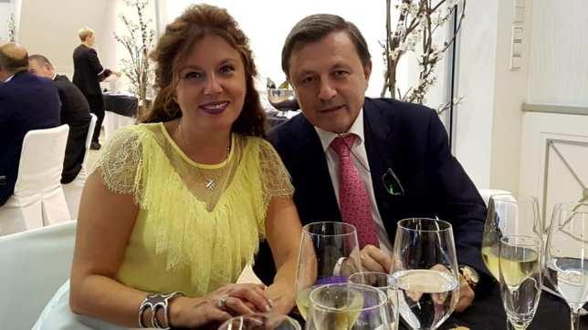 Laura Márquez y Luis Lozano en la Cena de Gala XX Aniversario G&T