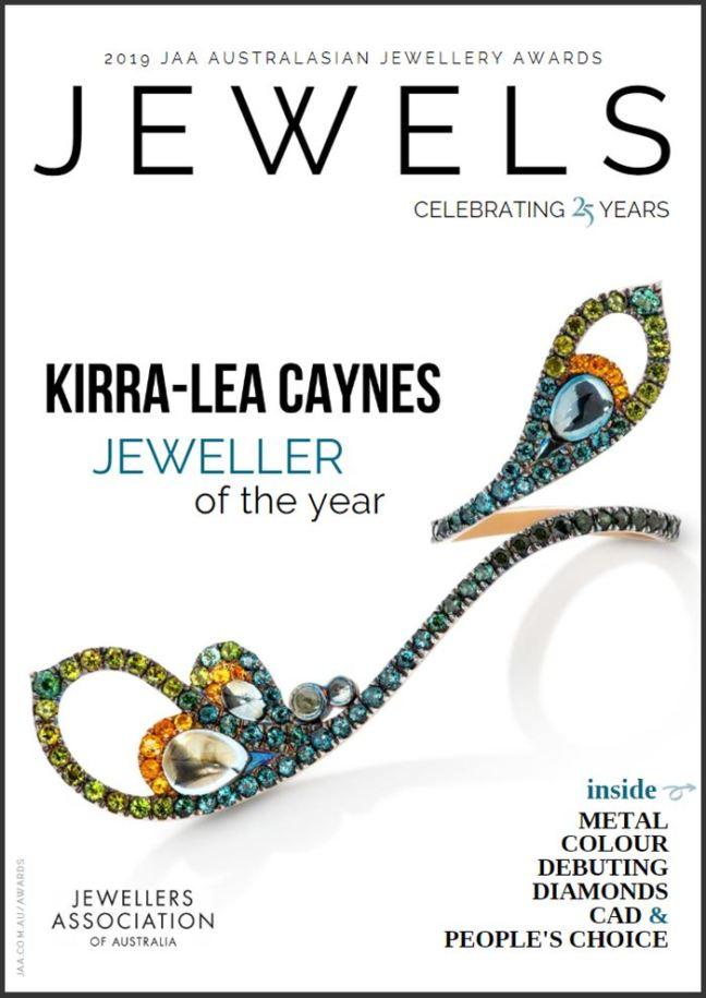 JAA Australasian Jewellery Awards eMagazine 2019