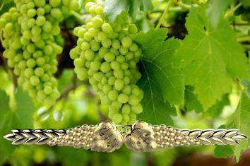 Paqui Pedraza - Pisacorbatas Espiga pámpanos y uvas