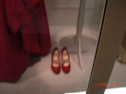 Mamie Eisenhower's little red shoes