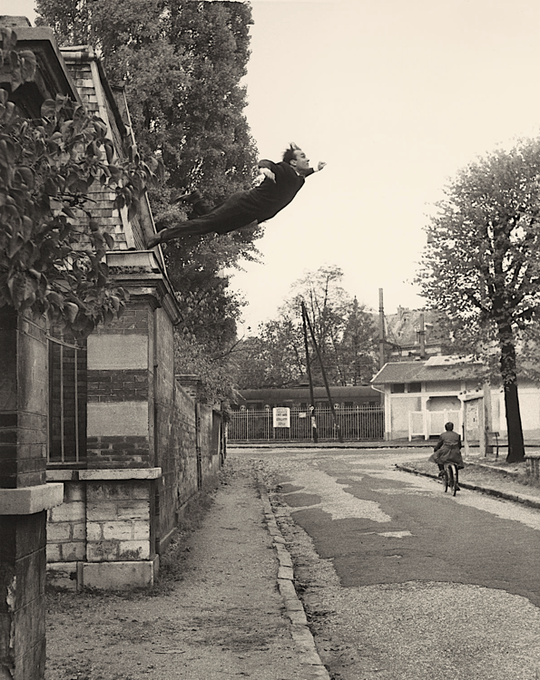 salto mortale yves klein leap into the void sharpened