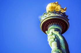 Lady Liberty lights the way