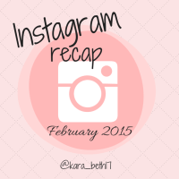 Instagram Recap Feb 2015