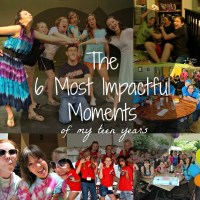 The 6 Most Impactful Moments of my teen years