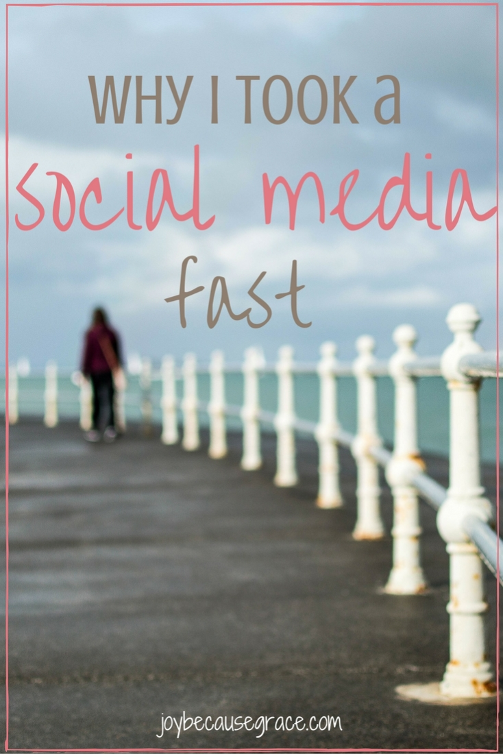 Have you ever considered taking a social media fast?