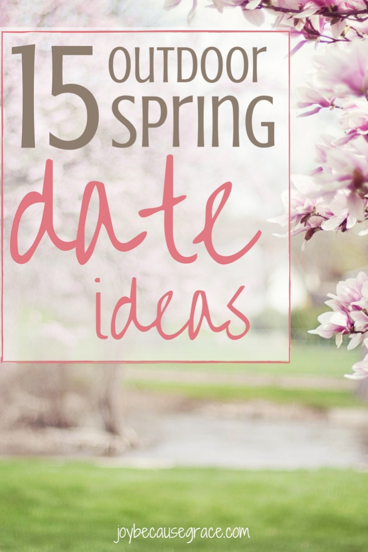 Need cheep date ideas? Suggestions of fun things to do with your friends? Ideas for solo-adventuring? Here are 15 fun things you can do outside this spring.